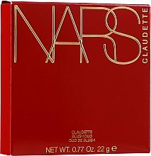 Perfumería y cosmética Colorete facial en polvo compacto bicolor - Nars Claudette Blush Duo