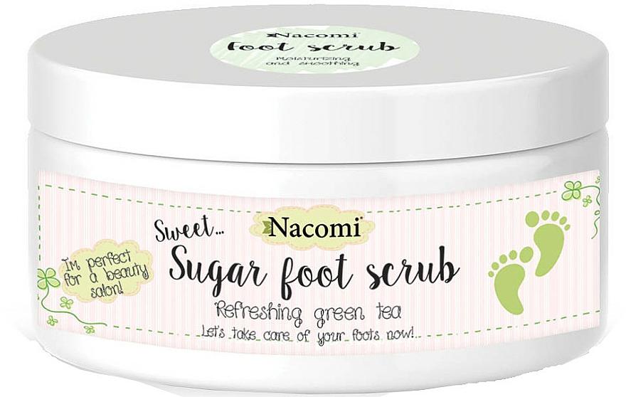 Exfoliante natural de azúcar para pies con manteca de karité y aceite de jojoba - Nacomi Sugar Foot Peeling