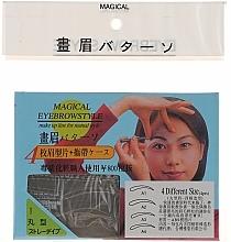 Perfumería y cosmética Plantillas para cejas, tamaño A1, A2, A3, A4 - Magical Eyebrow Style