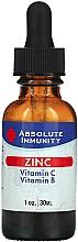 Perfumería y cosmética Complemento alimenticio para la inmunidad zinc con vitamina C y vitamina B - Absolute Nutrition Immunity Zinc With Vitamin C & Vitamin B