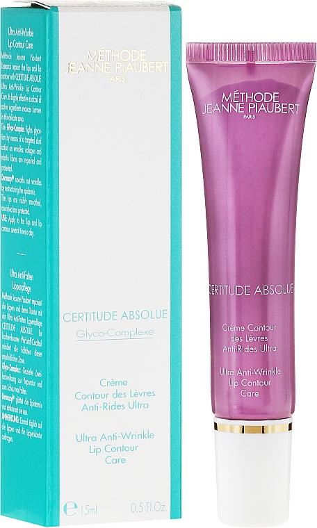 Crema antiedad para contorno de labios con extracto de avena - Methode Jeanne Piaubert Certitude Absolue Ultra Anti-Wrinkle Lip Contour Care — imagen N1