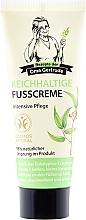 Perfumería y cosmética Crema de pies con extracto de eucalipto & vitamina E - Las recetas de la abuela Gertruda