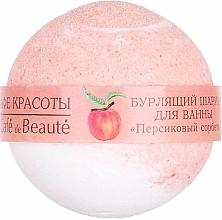 "Perfumería y cosmética Bomba de baño ""sorbete de melocotón"" - Le Cafe de Beaute Bubble Ball Bath"