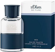 Perfumería y cosmética S. Oliver So Pure Men - Eau de toilette