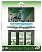 Perfumería y cosmética Set aceites esenciales eco orgánicos - Galeo Vital Oils For Winter (3uds.x10ml)
