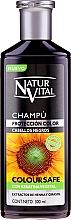 Perfumería y cosmética Champú para cabello teñido negro - Natur Vital Coloursafe Henna Colour Shampoo Black Hair