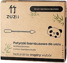 Perfumería y cosmética Bastoncillos de bambú con diferentes puntas - Zuzii Bamboo Cotton Buds