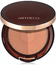 Perfumería y cosmética Polvo bronceador compacto - Artdeco Bronzing Powder Compact Long-Lasting