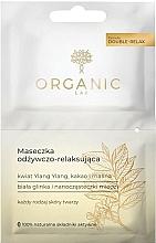 Perfumería y cosmética Mascarilla facial nutritiva y relajante con arcilla blanca, ylang-ylang y frambuesa - Organic Lab Nourishing and Relaxing Face Mask