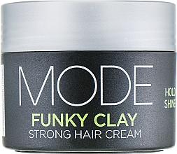 Perfumería y cosmética Arcilla moldeadora de cabello, fijación fuerte - Affinage Mode Funky Clay