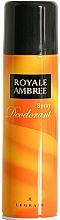 Perfumería y cosmética Legrain Royale Ambree - Desodorante