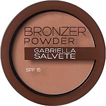 Perfumería y cosmética Polvo bronceador - Gabriella Salvete Bronzer Powder SPF15