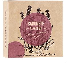 Perfumería y cosmética Jabón vegetal artesano con lavanda - Essencias De Portugal Senses Lavender Soap With Olive Oil