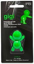 Perfumería y cosmética Ambientador de coche con aroma cítrico - Mr&Mrs Gigi Car Freshener Citrus Green