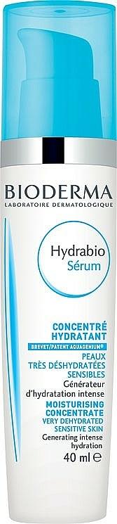 Sérum facial con extractos de alga semillas de manzana - Bioderma Hydrabio Serum Moisturising Concentrate