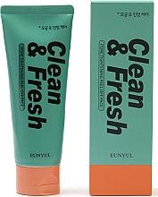 Perfumería y cosmética Espuma de limpieza facial con menta y lima - Eunyul Clean & Fresh Pore Tightening Foam Cleanser