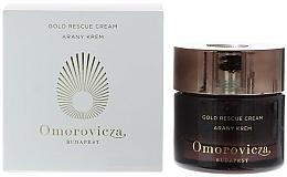 Perfumería y cosmética Crema hidratante diaria con oro coloidal y potente combinación de péptidos - Omorovicza Gold Rescue Cream
