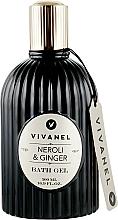 Perfumería y cosmética Gel de baño con aroma a neroli y jengibre - Vivian Gray Vivanel Neroli & Ginger