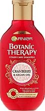 Perfumería y cosmética Champú con aceite de argán & arándano - Garnier Botanic Therapy Argan Oil & Cranberry Shampoo