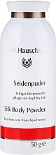 Perfumería y cosmética Polvo de seda con extractos de genciana y roble - Dr. Hauschka Silk Body Powder