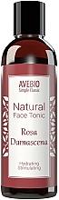 Perfumería y cosmética Tónico facial natural con aroma a rosa de damasco - Avebio Natural Face Tonic Rosa Damascena