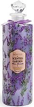 Perfumería y cosmética Espuma de baño con aroma a lavanda - IDC Institute Scented Garden Luxury Bubble Bath Warm Lavender