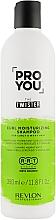 Perfumería y cosmética Champú hidratante para cabello rizado con pantenol - Revlon Professional Pro You The Twister Shampoo