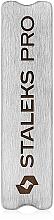Perfumería y cosmética Base de acero inoxidable para limas abrasivas autohadesivas - Staleks Pro Expert MBE-50