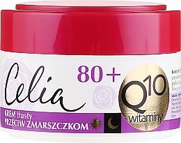 Perfumería y cosmética Crema facial rejuvenecedora con coenzima Q10 y vitaminas E, C y F - Celia Q10 Face Cream 80+