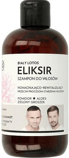 Champú revitalizante con extracto de tomate y aloe vera - WS Academy White Lotus