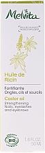 Perfumería y cosmética Aceite de ricino para pestañas, cejas y uñas - Melvita Huiles De Beaute Castor Oil