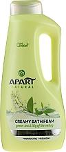 Perfumería y cosmética Espuma de baño con té verde y lirio de los valles - Apart Natural Body Care Bath Foam