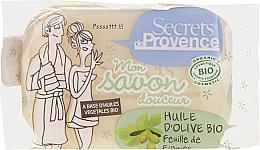 Perfumería y cosmética Jabón orgánico - Secrets De Provence My Soap Bar Olive Oil Fig Tree