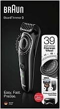Perfumería y cosmética Recortadora de barba con dial de precisión y maquinilla Gillette Fusion5 ProGlide - Braun BeardTrimmer3 BT3242