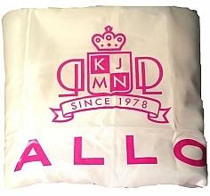 Perfumería y cosmética Capa de peluquería, blanca - Kallos