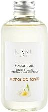 Perfumería y cosmética Aceite de masaje con aroma a monoi de tahití - Kanu Nature Monoi de Tahiti Massage Oil