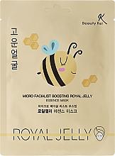 Perfumería y cosmética Mascarilla facial con extracto de jalea real - Beauty Kei Micro Facialist Boosting Royal Jelly Essence Mask