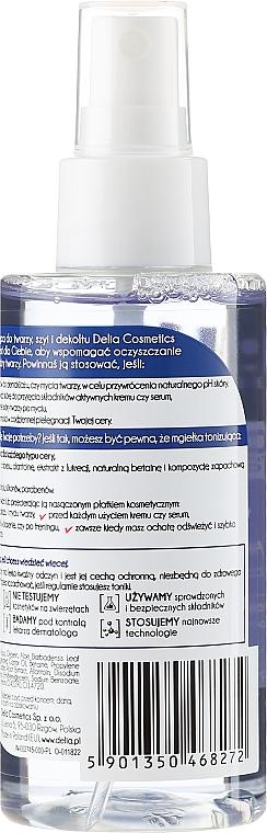 Tónico para rostro, cuello y escote con extracto de aloe vera - Delia Dermo System — imagen N2