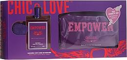 Perfumería y cosmética Chic&Love Empower - Set (eau de toilette/100ml + neceser)