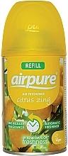 Perfumería y cosmética Ambientador con aroma cítrico (recarga) - Airpure Air-O-Matic Refill Citrus Zing