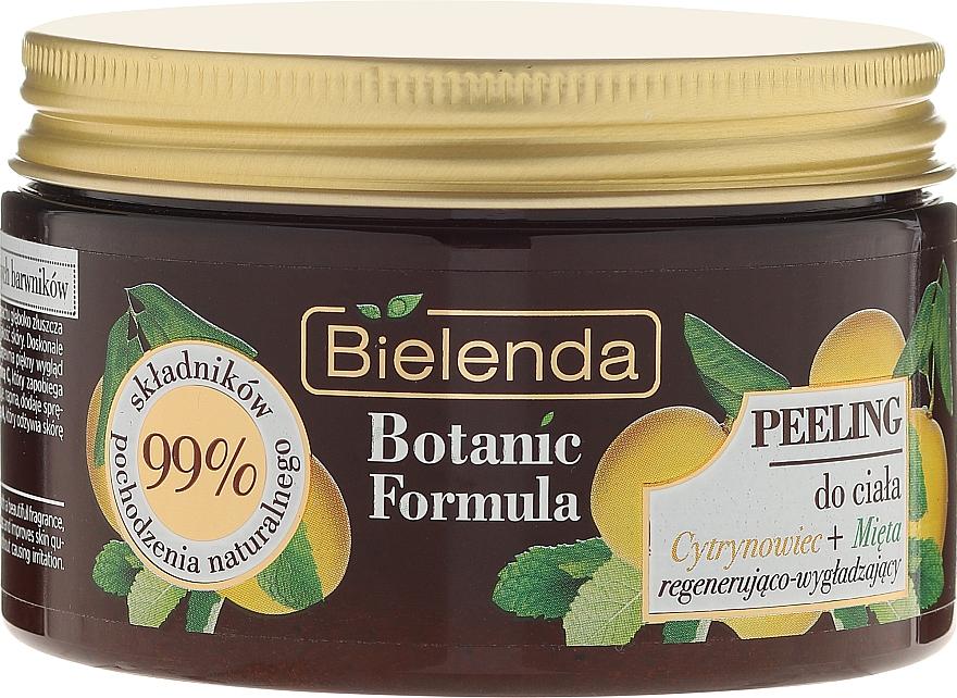 Exfoliante corporal con extractos de limón & menta - Bielenda Botanic Formula Lemon Tree Extract + Mint Body Scrub