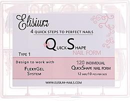 Perfumería y cosmética Extensiones para construcción de uñas, tipo 1 - Elisium