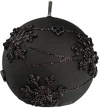 Perfumería y cosmética Vela decorativa, bola, negra, 12cm - Artman Snowflake Application