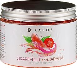 Perfumería y cosmética Exfoliante corporal de azúcar con extracto de guaraná y naranja amarga - Kabos Grapefruit & Guarana Sugar Peeling