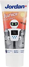 Perfumería y cosmética Pasta dental para niños 6-12 años, robot - Jordan Junior Toothpaste