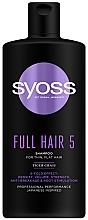 Perfumería y cosmética Champú con extracto de centella asiática - Syoss Full Hair 5 Shampoo