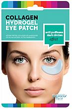 Perfumería y cosmética Parches de hidrogel para ojos con colágeno natural, antiojeras - Beauty Face Collagen Hydrogel Eye Mask