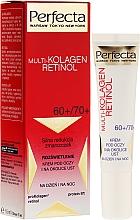 Perfumería y cosmética Crema contorno de ojos con cafeína - Dax Cosmetics Perfecta Multi-Collagen Retinol Eye Cream 60+/70+
