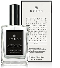 Perfumería y cosmética Bruma facial de noche tonificante con ácido hialurónico - Avant Hyaluronic Acid Age Fix Toning Night Concentrate Mist