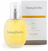Perfumería y cosmética Aceite baño con geranio y onagra - AromaWorks Serenity Bath Oil